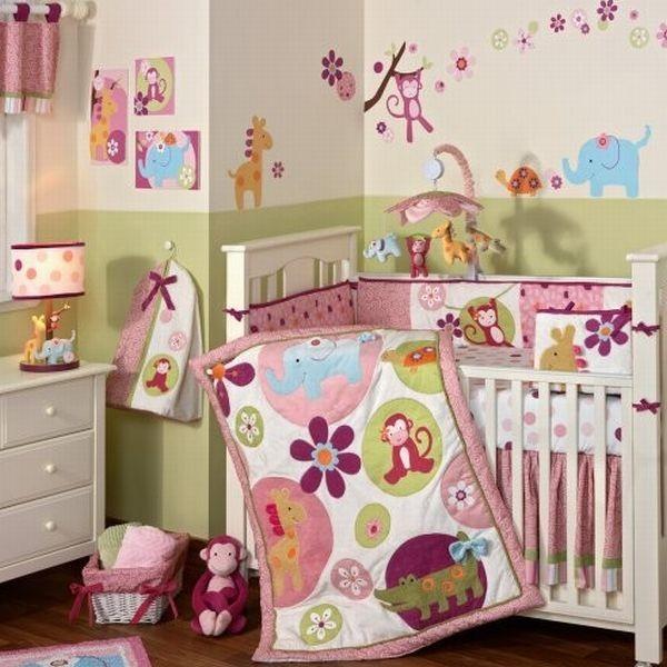 Habitaciones de beb con mucho color dormitorios con estilo - Dormitorios para bebe ...