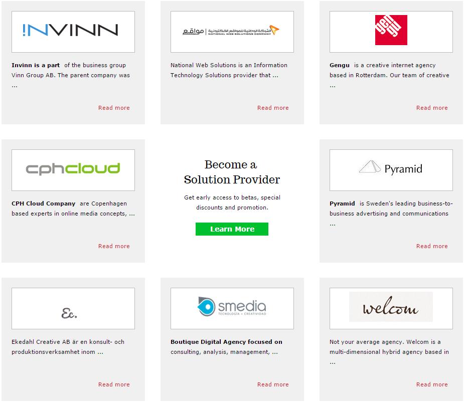 Партнеры Composite - международные веб-агенства