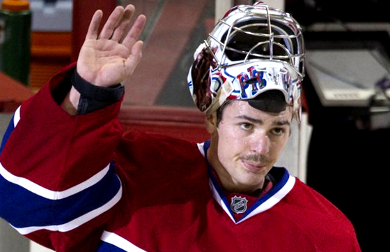 Carey Price pays visit to Americans for weeklong workout