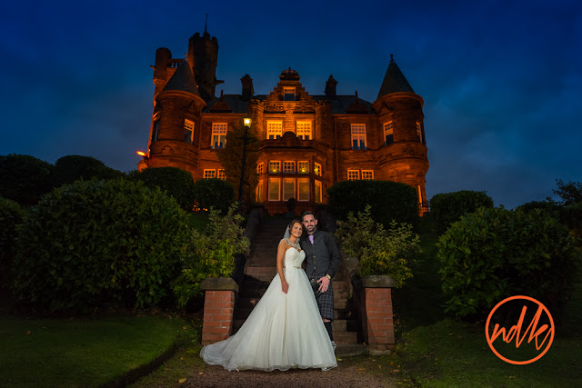 Sherbrooke Castle Hotel Wedding Photography