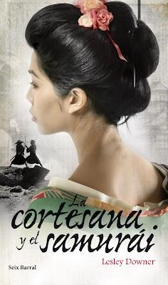 novela La cortesana y el samurai escritora Lesley Downer