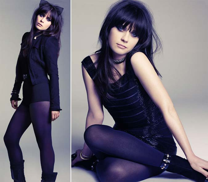 FOTOS: Zooey Deschanel PERFEITA na Marie Claire magazine de Maio (2012)