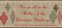 I Design for Holly Jolly Christmas Challenges