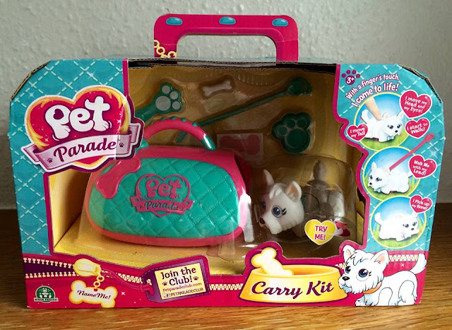pet parade westie carry kit in packaging