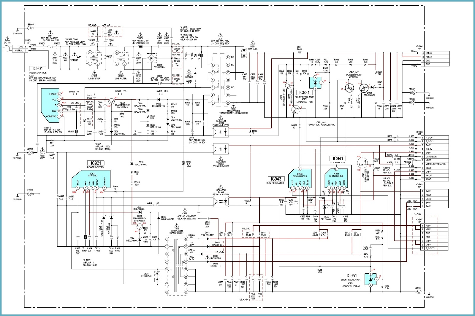 Comfortable Smps Circuit Diagram Repair Mitsubishi Triton Wiring Diagram