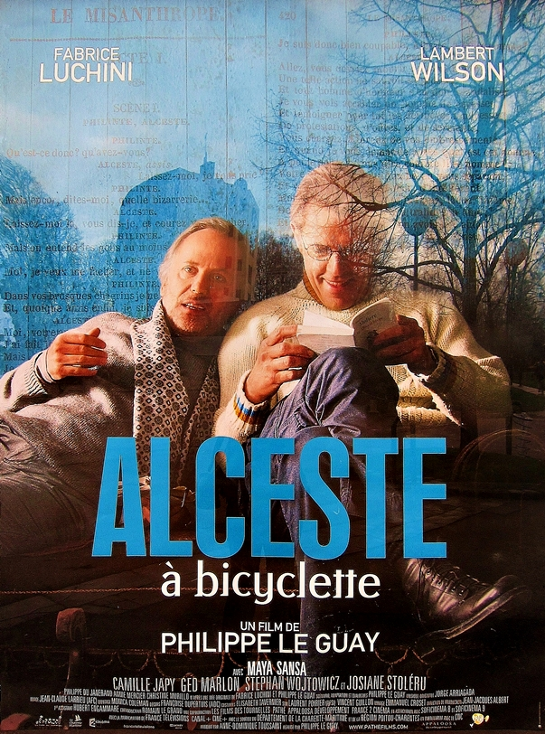 Póster Alceste à bicyclette