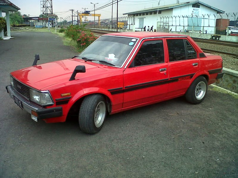 modifikasi toyota corolla dx 1982