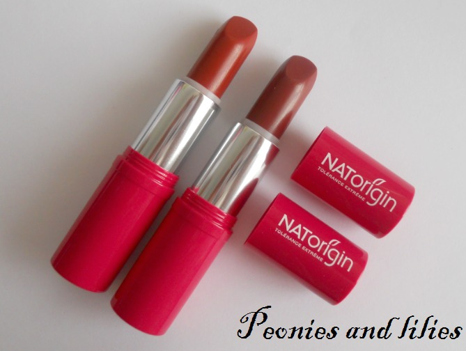 Natorigin, Natorigin lipstick, Natorigin lipstick review, Natorigin coral lipstick, Natorigin fig lipstick, Hypoallergic organic make up, Hypoallergic organic cosmetics