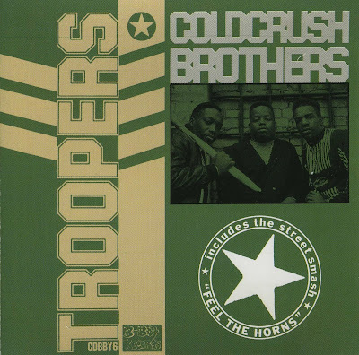 Cold Crush Brothers ‎– Troopers (CD) (1988) (320 kbps)