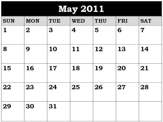 may 2011 calendar. april and may 2011 calendar