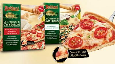 Pizza surgelata Buitoni
