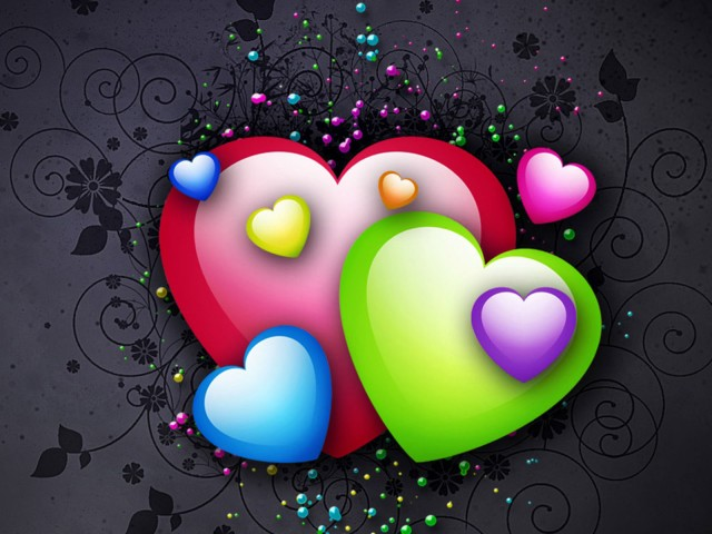 Free Animated Love Wallpapers 640x480