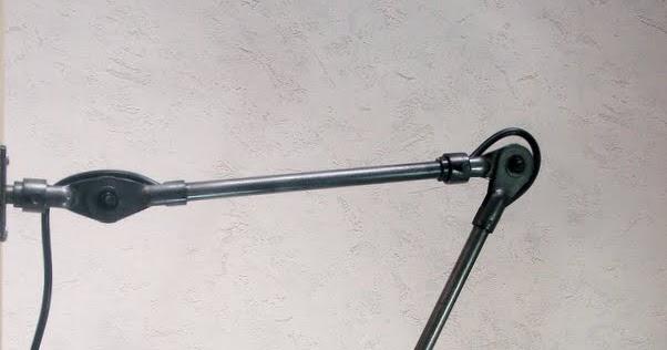 Lampe applique fostoria for Applique accordeon industrielle