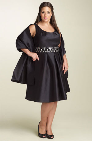 Beautiful Plus Size Dresses Collection For Women Fashion 2013