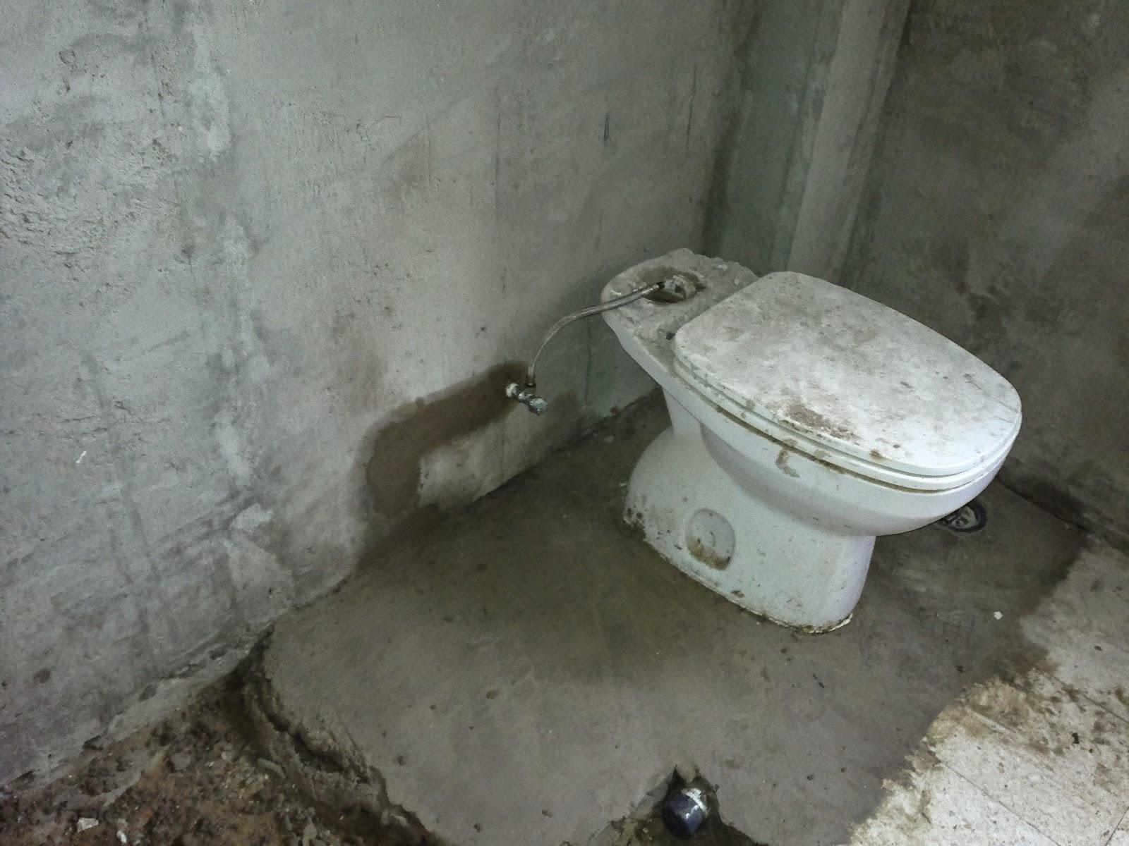 Lagoa reforma vivienda - Desague bano ...