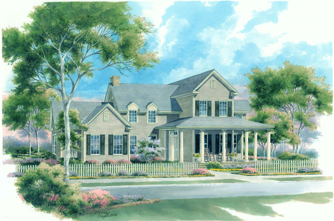 Builder review daily home builders association of for Cottage style homes greenville sc