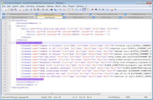 Notepad ++ 6.6.9 [Rilis 2014-09-07]