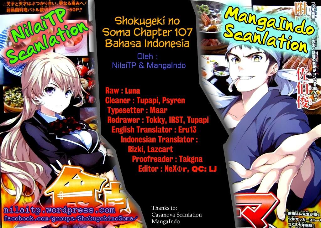 Dilarang COPAS - situs resmi www.mangacanblog.com - Komik shokugeki no soma 107 - jarak dan ideal 108 Indonesia shokugeki no soma 107 - jarak dan ideal Terbaru 1|Baca Manga Komik Indonesia|Mangacan