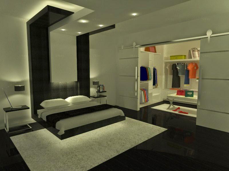 Texeira interiorismo dise o de habitaci n en suit for Diseno de habitacion con bano y cocina