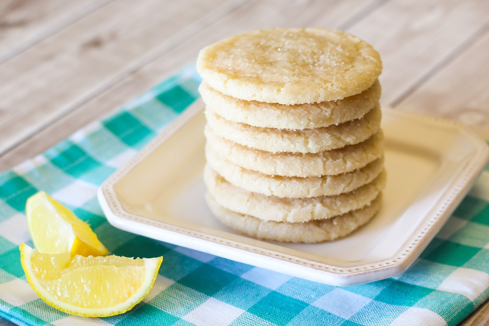 ... Bakes Gluten Free Treats: gluten free vegan chewy lemon sugar cookies