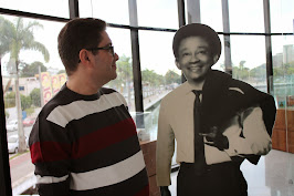 Jackson do Pandeiro e eu no Museu dos 3 pandeiros
