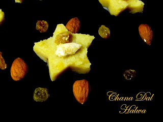 Chana Dal Halwa