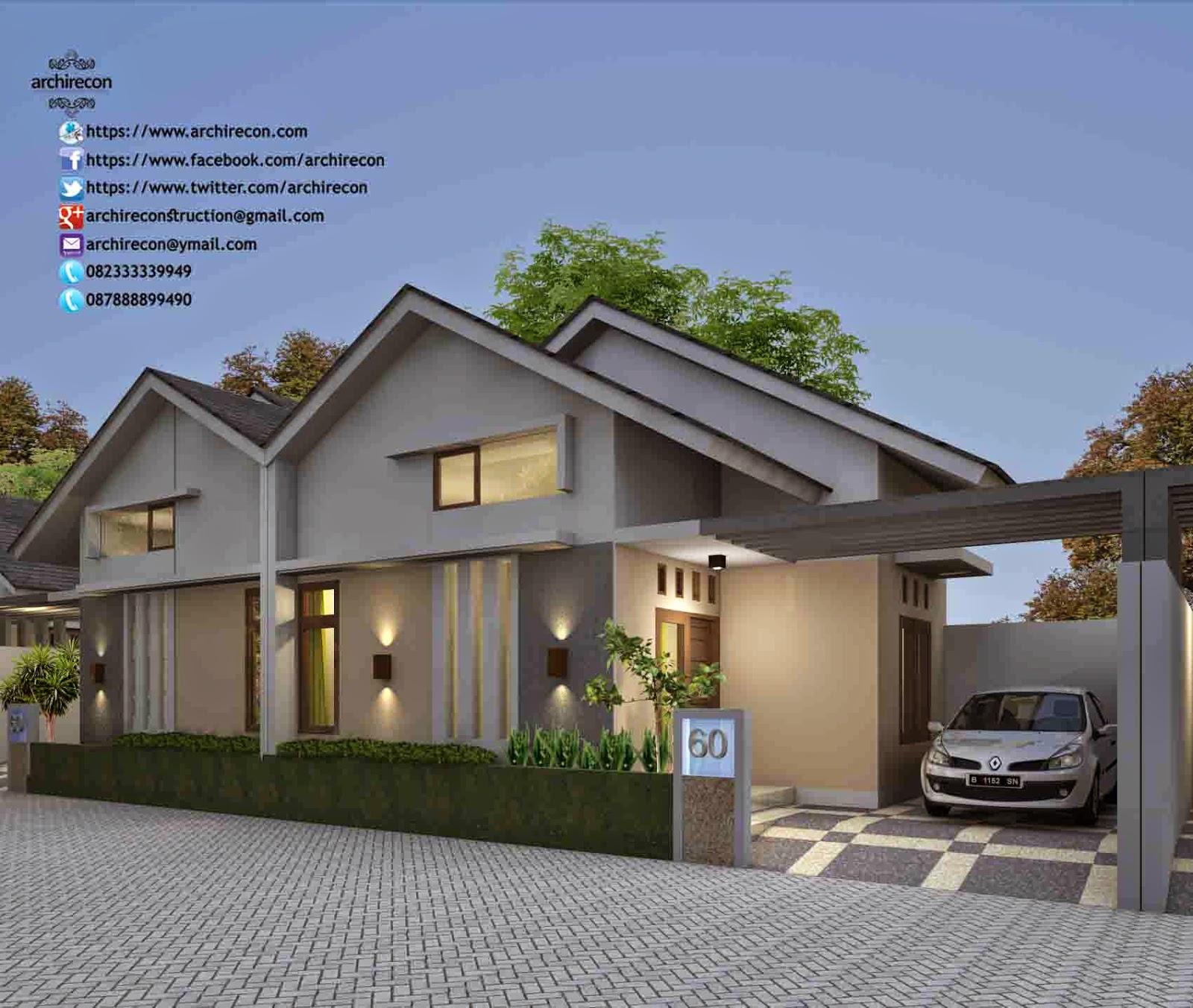 Jasa Desain Rumah Minimalis di Kediri