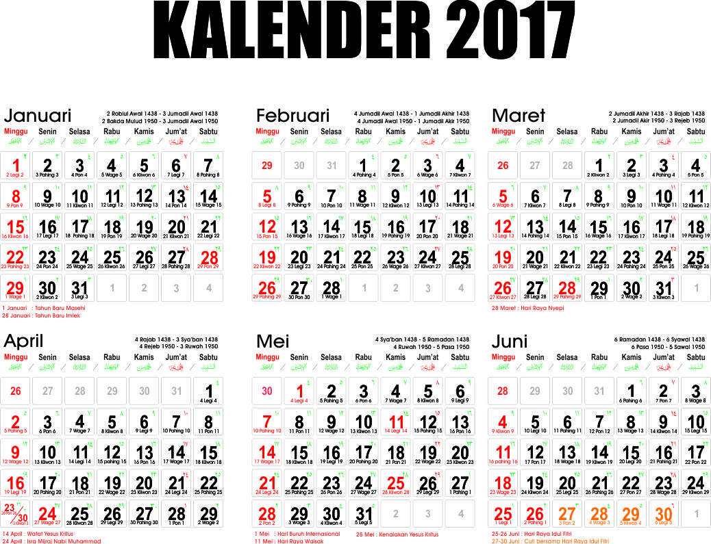 Kalender 2017 Related Keywords