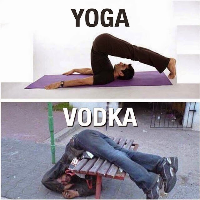 723. Why Vodka is better than Yoga?