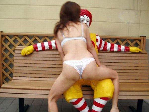 Apologise that, Nude female ronald mcdonald