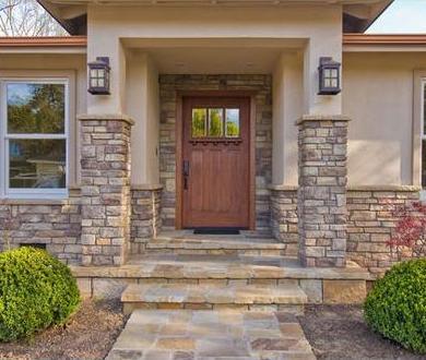 Fotos y dise os de puertas fabricas puertas de madera for Disenos de puertas de madera para exterior