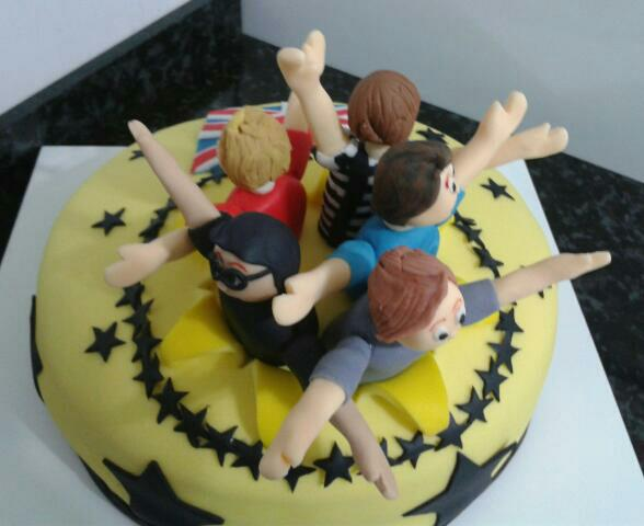 Dila´s Cake: One Direction - Surpresa