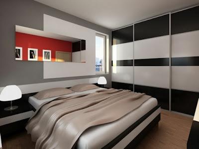 hermoso dormitorio pequeño