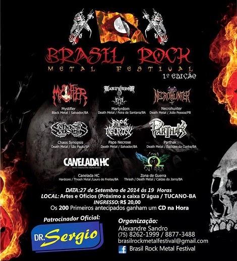 27-09-2014 - BRASIL ROCK METAL FESTIVAL - Tucano - BA