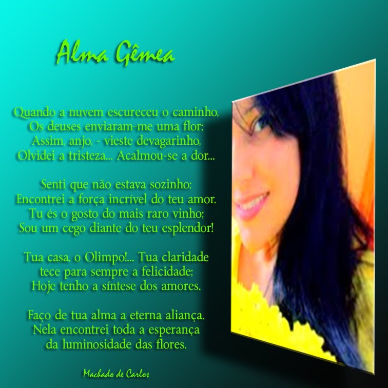 Lindo presente de Machado de Carlos - Gratidão!