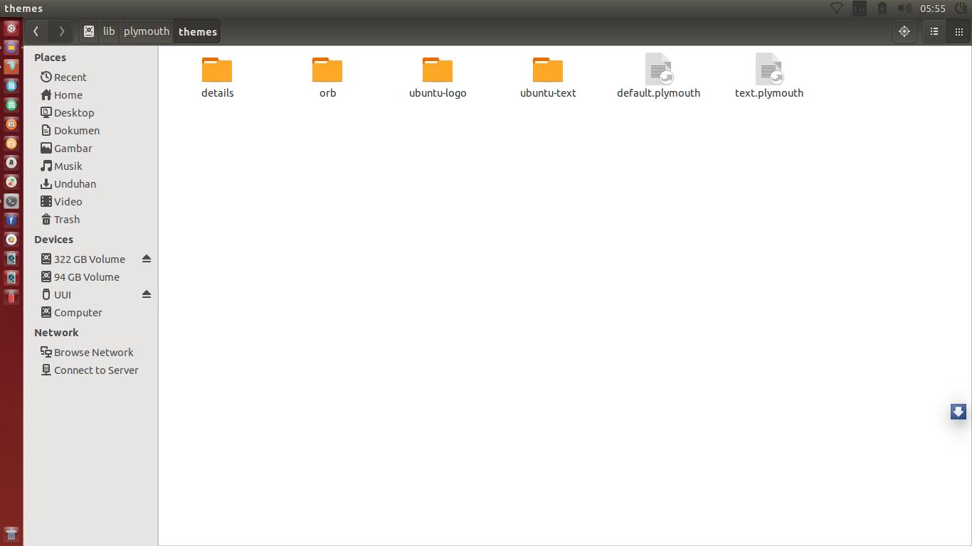 Cara Mengubah splash screen / tampilan pembuka saat Booting Ubuntu