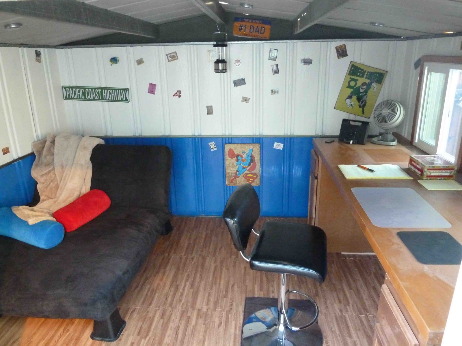 Shed Into Man Cave : Storage shed turned into man cave my web value