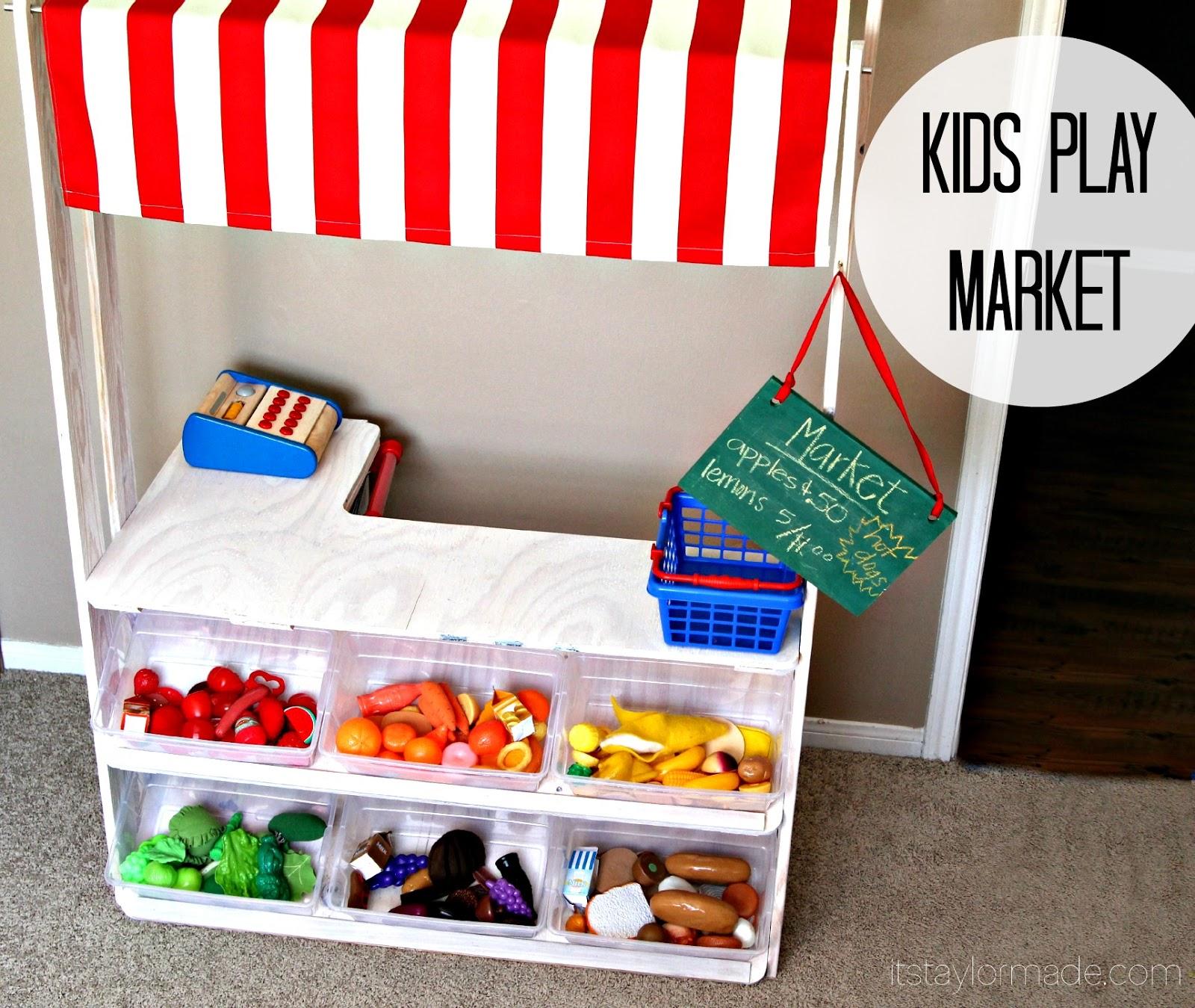 Diy Kids Play Market Taylormade