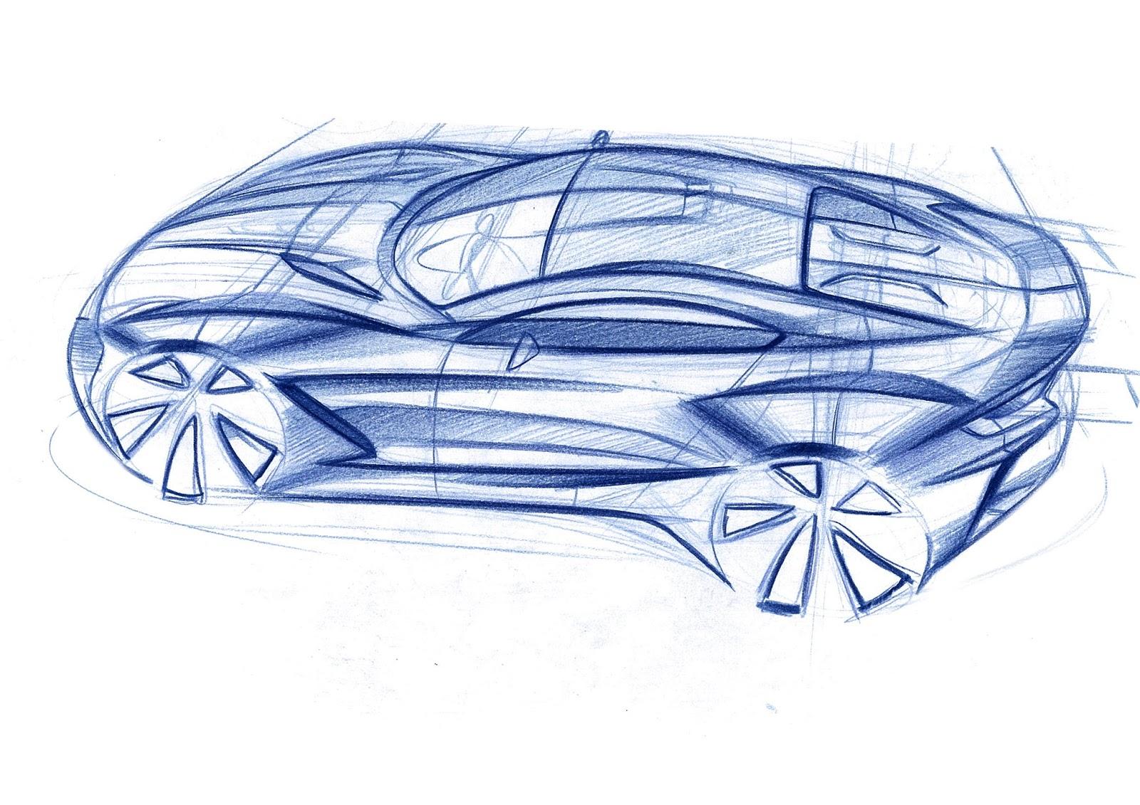 Sketchsite:Barrett: Random sports car sketch