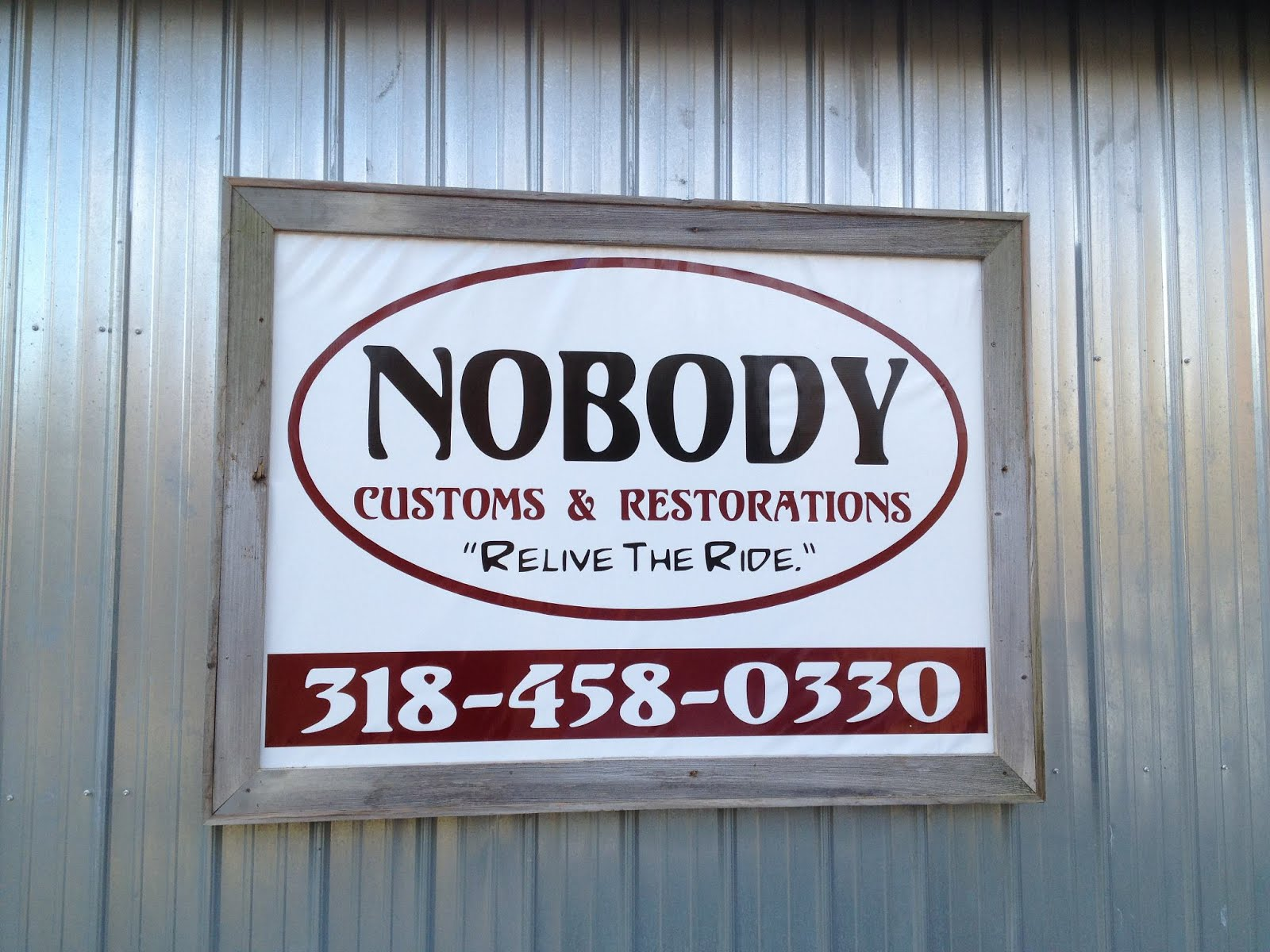 Nobody Customs & Restorations