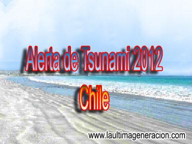 Tsunami para Chile