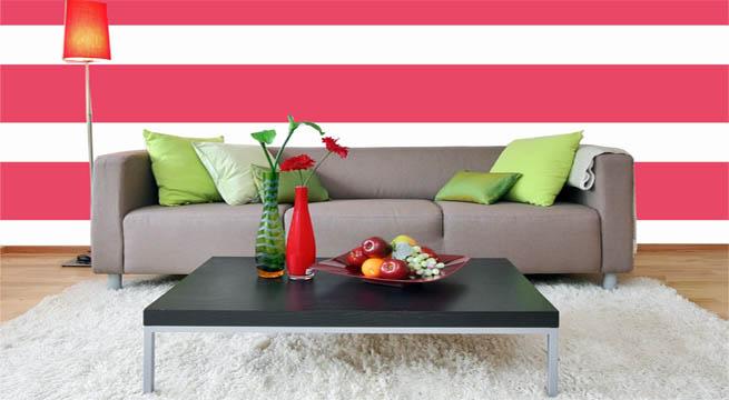 Marzua paredes a rayas horizontales - Paredes rayas horizontales ...