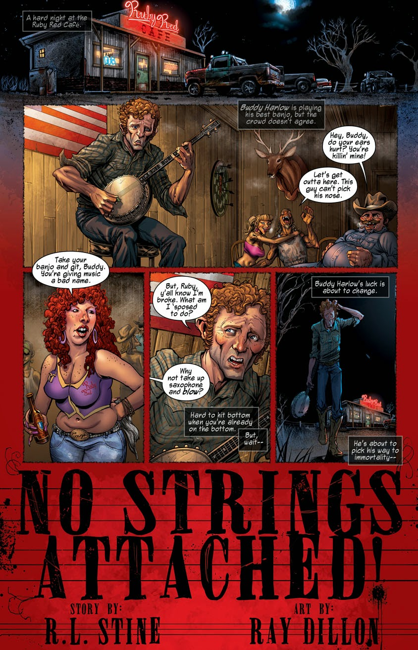 R.L. STINE Comic Short