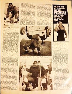 O.D. Wilson, Powerlifting USA