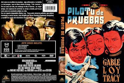 Carátula, cover, dvd: Piloto de pruebas | 1938 | Test Pilot