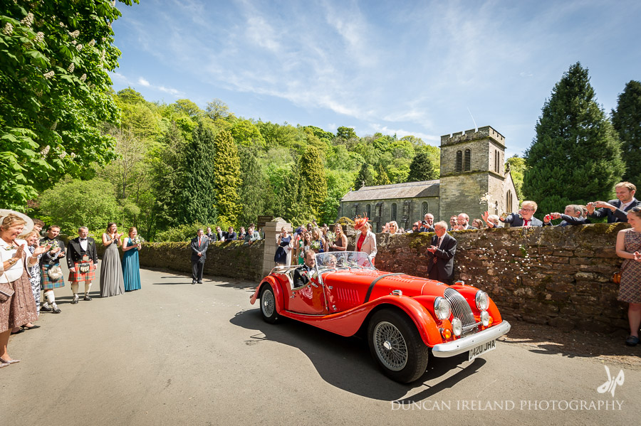 Morgan Wedding Car Cumbria