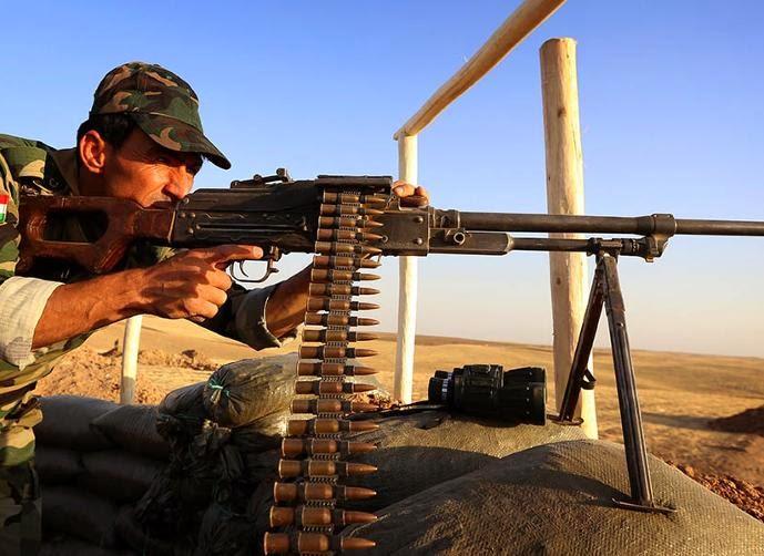 مقاتلو عين العرب كوباني يسيطرون على عشرات القرى والبلدات في محيط المدينة