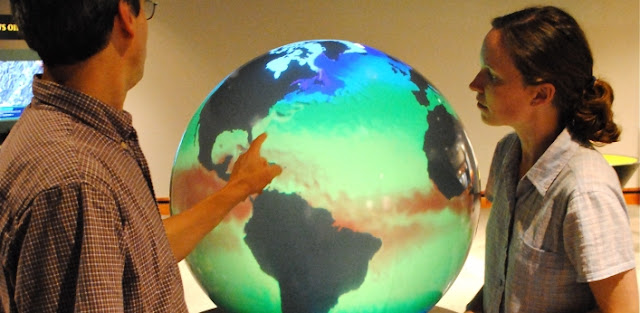 Montshire Museum of Science Norwich Vermont Weather Globe Earth Kids