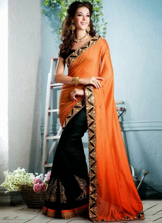 Latest Sarees Collection For Eid 2014