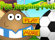 Pou Juggling Football | Juegos15.com